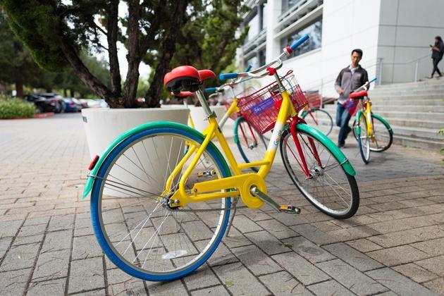 园区内自行车经常丢失:谷歌启用GPS和智能锁技术