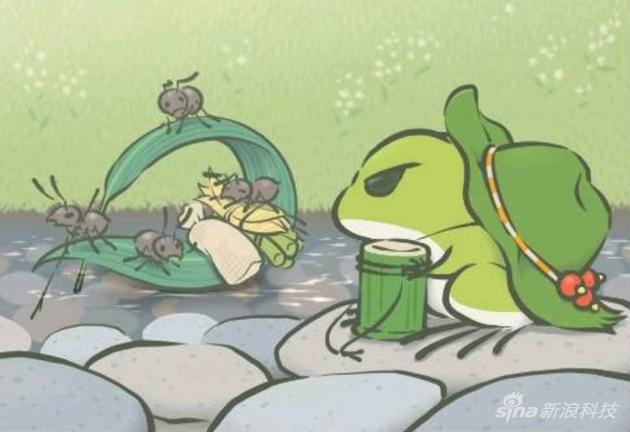 """《旅行青蛙》为啥能火?它""""粘住""""了不玩游戏的用户"""