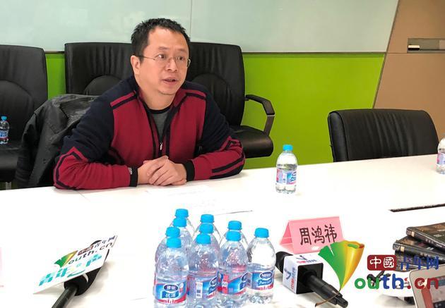全国政协委员、360集团董事长兼CEO周鸿祎。中国青年网记者 张乐摄