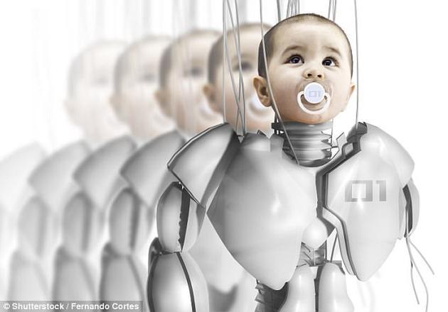 """一位资深人工智能专家表示,人工智能机器人未来百年内将与它们的主人拥有""""孩子""""。"""