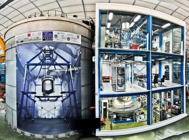 意大利XENON实验的设施照片