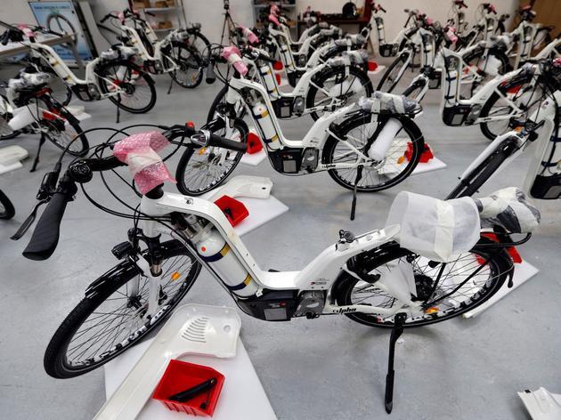 法国Pragma批量生产氢自行车 一辆要5.94万元