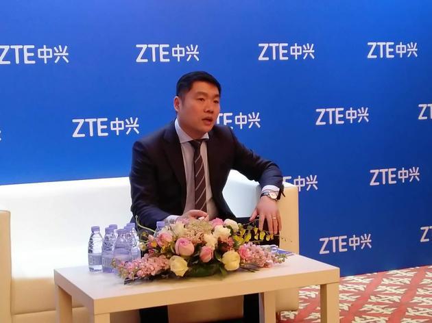 中兴通讯高级副总裁张建国接受采访