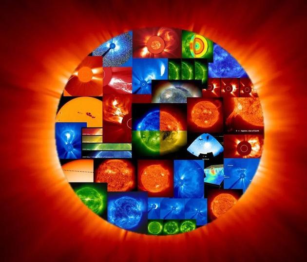 SOHO卫星对太阳的探测