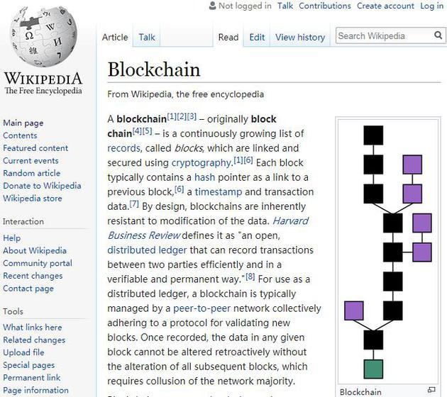维基百科联合创始人:希望用区块链技术储存世界知识