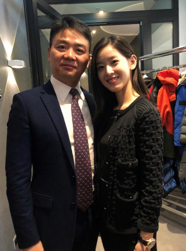 刘强东和妻子章泽天