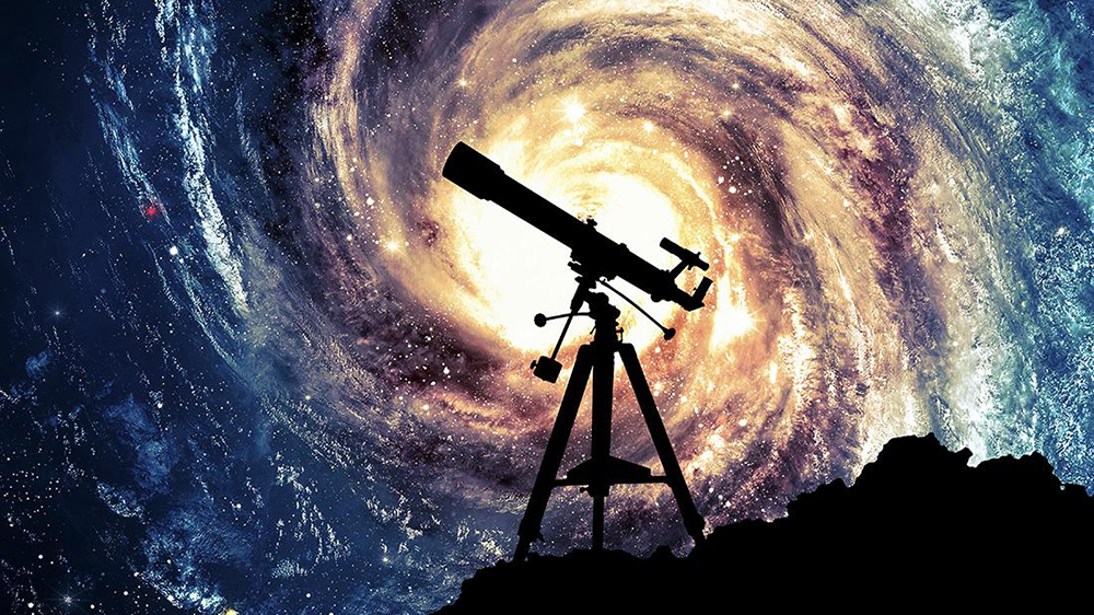 真能陪你观星望月? 超迷你多功能折叠望远镜