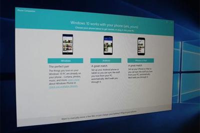 Win10开始精简系统了 先移除了Phone Companion