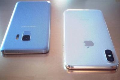 三星S9外观对比iPhone X 论颜值谁更高