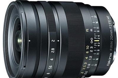 加入自动对焦 图丽发布FíRIN 20mm F2.0 FE AF镜头