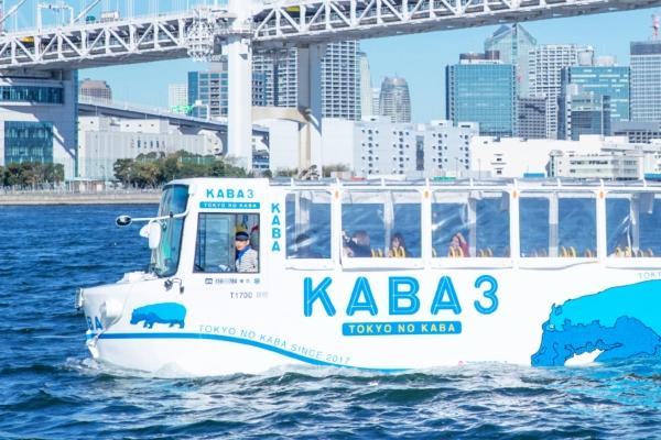 岛国人民又有新发明 水陆两用巴士正式启用