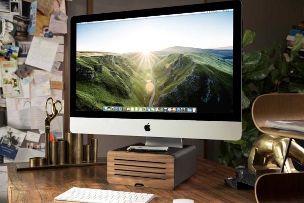 专为iMac Pro打造的支架 轻松整理桌面空间