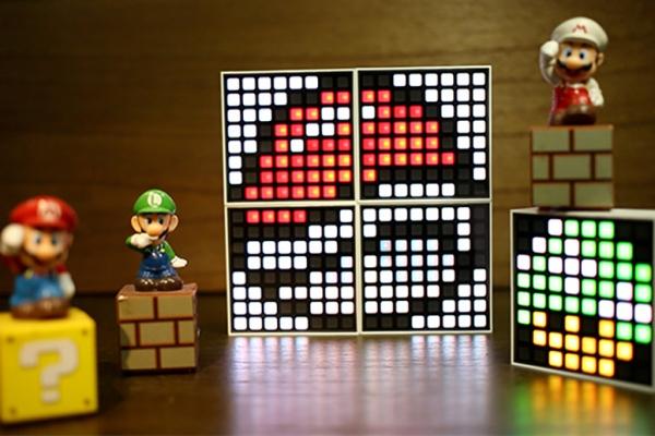 智能像素LED床头灯 打造别样的卧室情趣