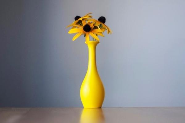生活充满创意 不足1元成本打造美丽花瓶