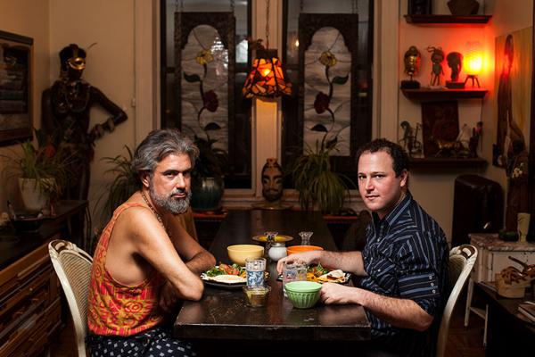 餐桌背后形形色色的美国家庭