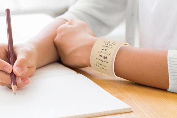 腕带可以写字 这种新型的备忘录你可见过?