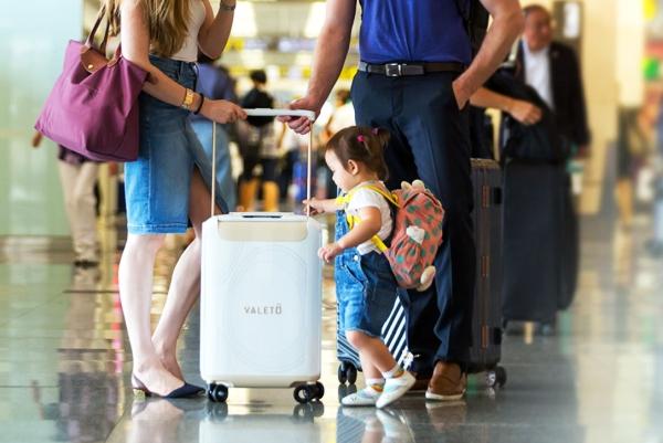 """""""能吃""""并非全部 这款旅行箱可随时变身成坐椅"""