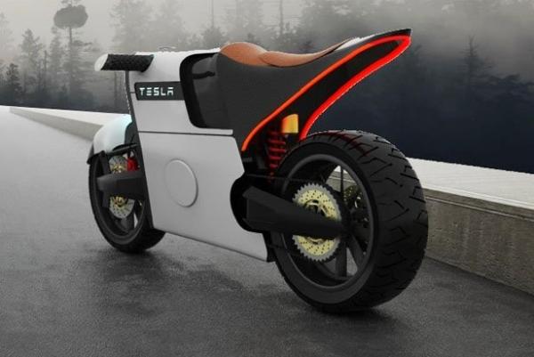 炫酷如吹风机:特斯拉E-bike概念电动车