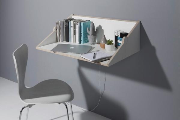 书架一秒变书桌 小户型节省空间又一利器