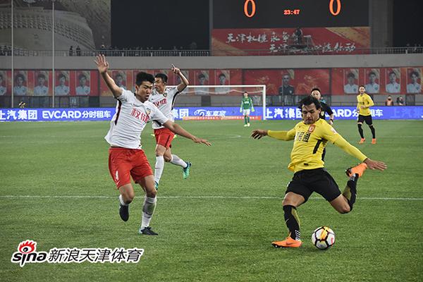 中超-高拉特失点郜林建功 权健0-1不敌恒大