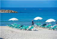 地中海 奔放的海滩