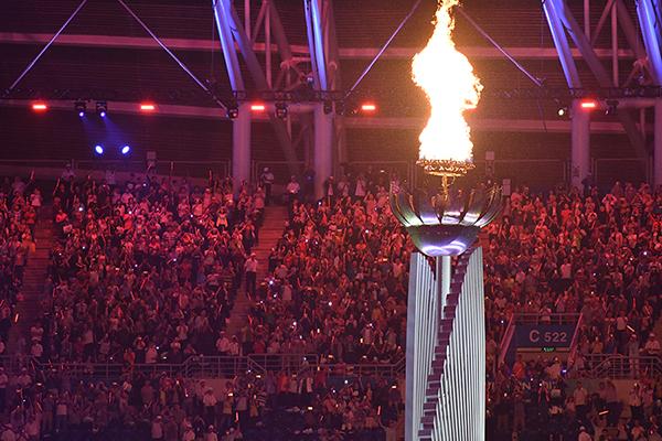 2017第十三届全运会开幕式隆重举行