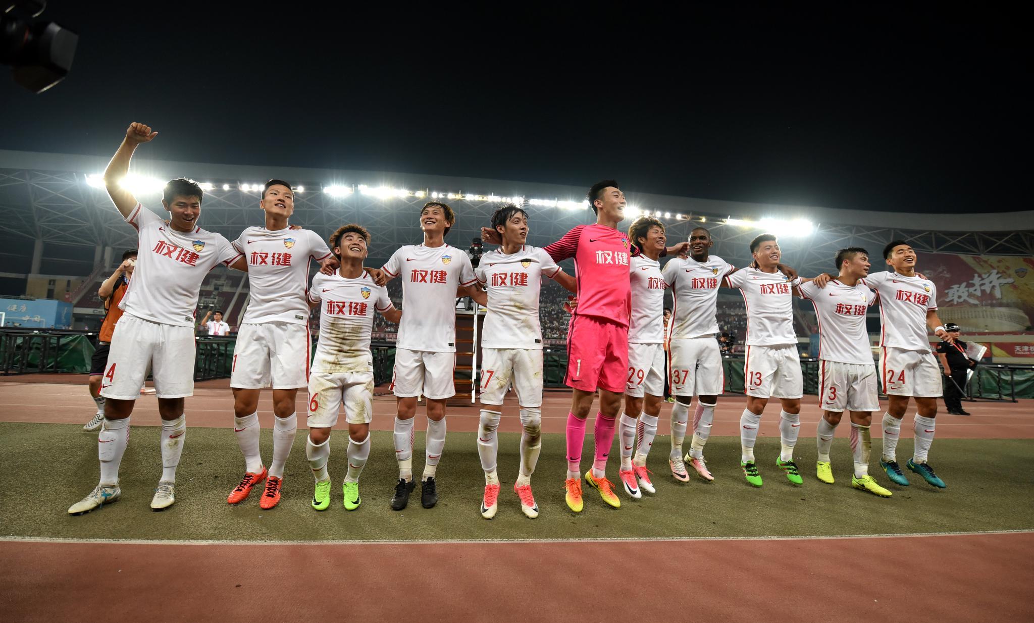 中超-帕托破僵莫德斯特传射 权健主场3-1胜贵州
