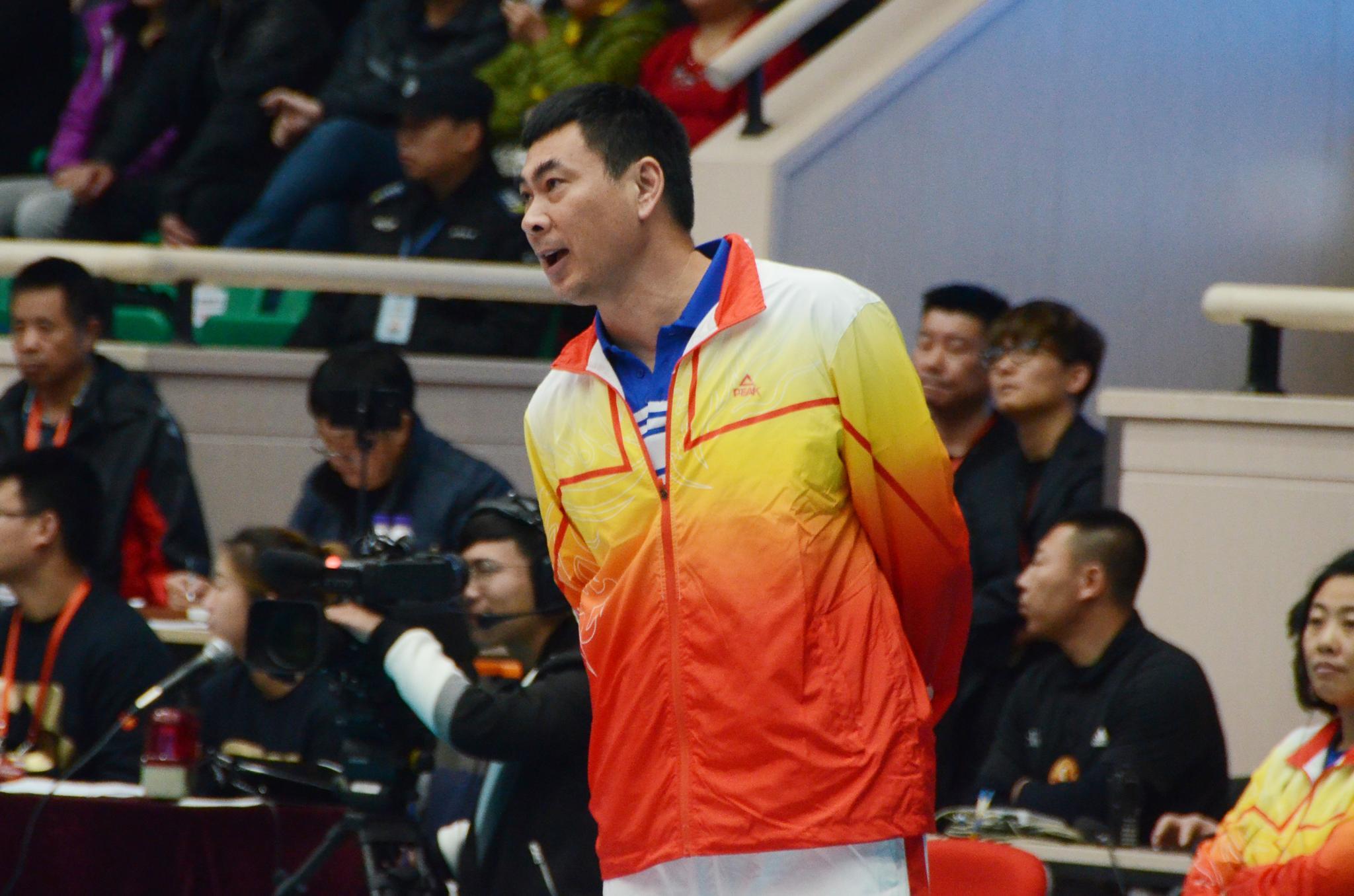 陈友泉:新人发挥出色 还需更激烈比赛历练队伍