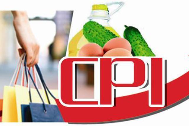 11月份天津CPI同比上涨2.0% 环比下降0.4%