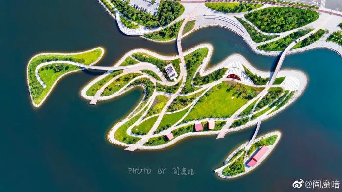 鸟瞰海博与南湾公园的壮阔美!