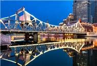 璀璨亮丽 最美津城解放桥