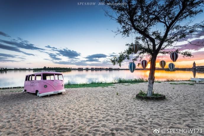 天津武清南湖 写意山水
