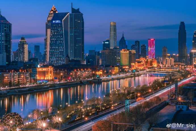 独具特色的天津桥梁