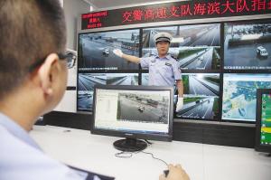 海滨高速启用交通事件视频自动检测