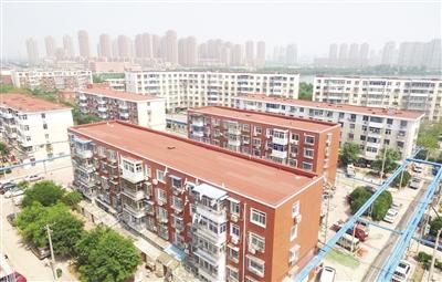 新区39个老旧小区 完成立面整修