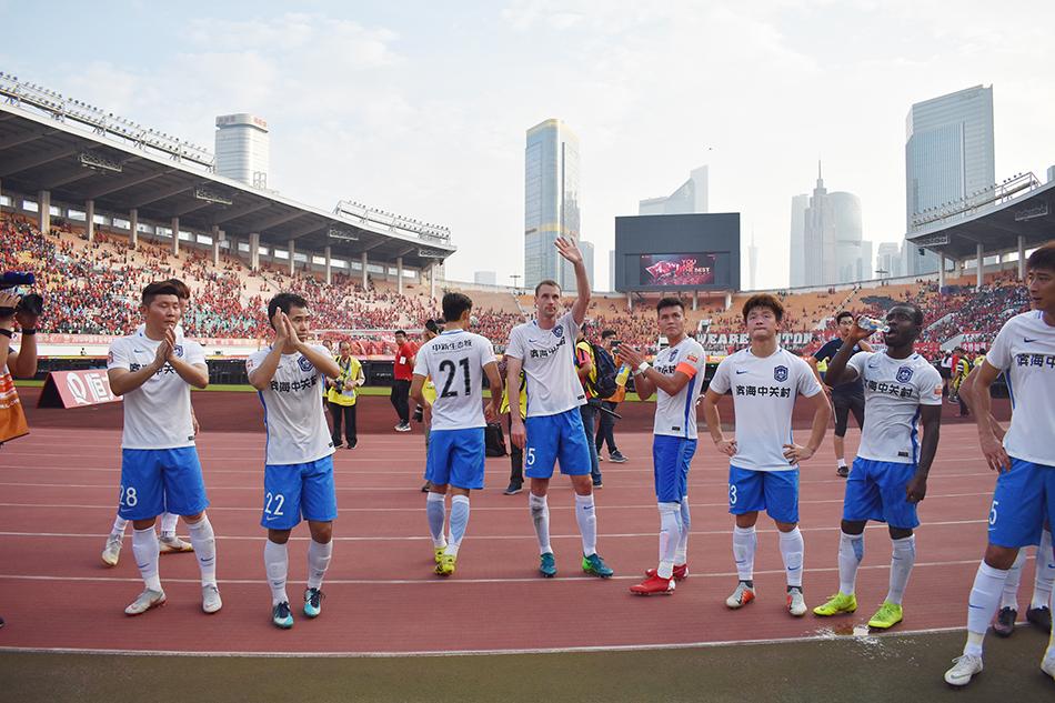 中超-乔纳森建功 泰达1-5恒大 输球保级