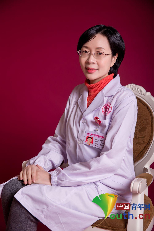 中国第21批援非医疗队医生郭璐萍。