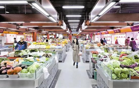 津城河北区22家菜市场大变身