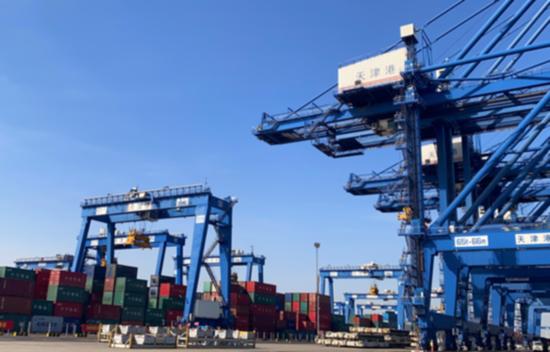 【2020·指尖城市】天津港:用技术打造智慧港口新标杆 用智慧赋能港口建设新海蓝