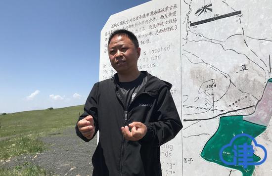 崔淑军驻守在小滦河国家湿地公园已6年,见证了这里的改变。记者伊健摄