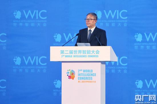 天津市委书记李鸿忠在开幕式上致辞