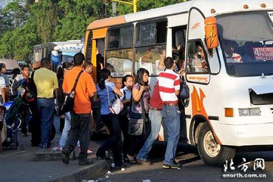 过去的委内瑞拉公交