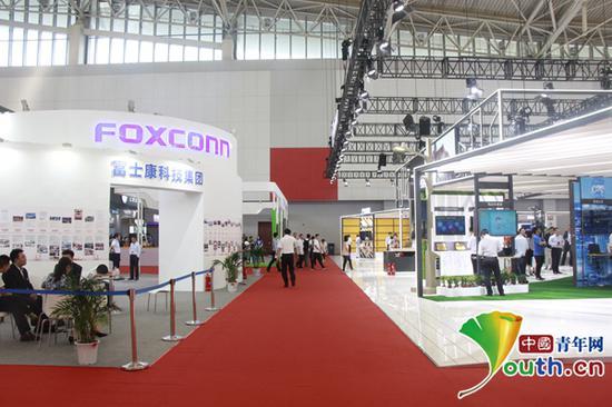 图为展厅现场。中国青年网记者李华锡 摄