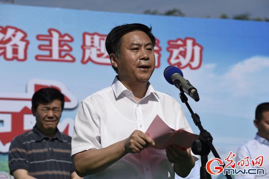 南阳市委副书记王智慧致辞