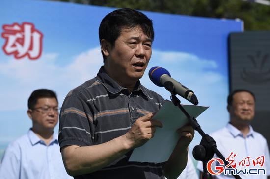 原国务院南水北调办综合司司长耿六成讲话