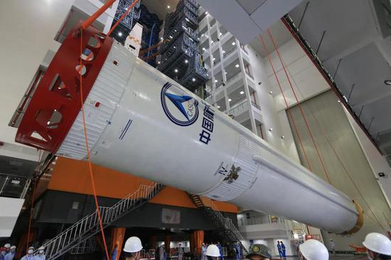 """""""胖五""""家族新成员亮相!中国空间站,又近了一步!"""