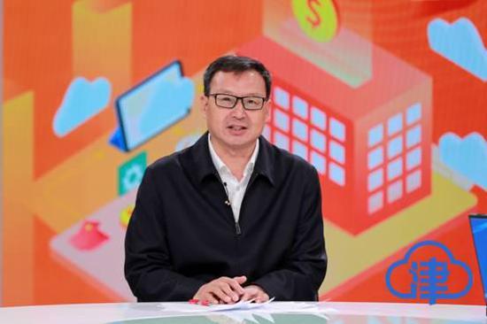 (天津市人力资源和社会保障局副局长李惠廷)
