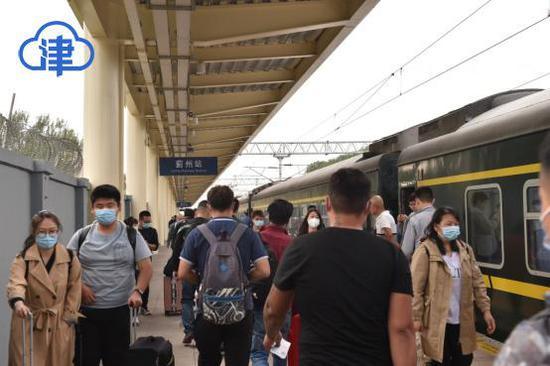 坐着高铁看天津,大美蓟州看不够!