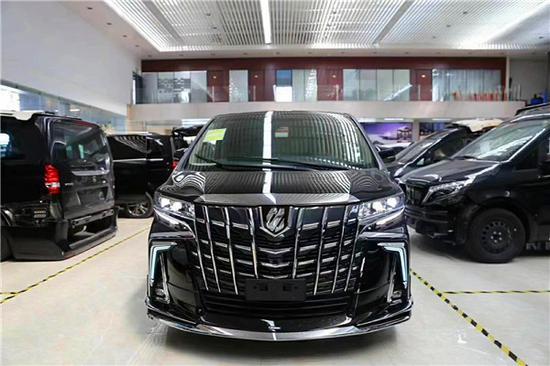 新丰田埃尔法改装4座蒙娜丽莎现车出售