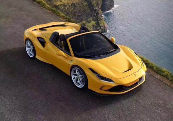 法拉利F8 Tributo V8超级跑车象征成功